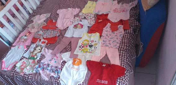 21 Roupas Infantis Feminina Meninas Tamanho P.m.g Maiorias P