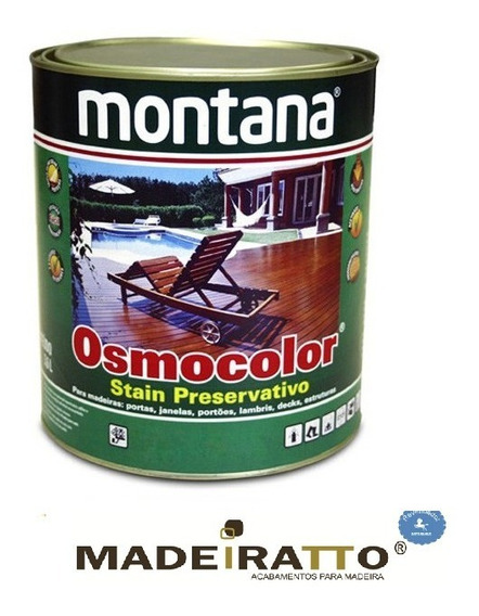Osmocolor Stain Transparente - 900ml