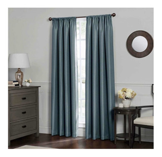 Cortinas Recámara 2.42cm 95-inch Insulated Total Blackout