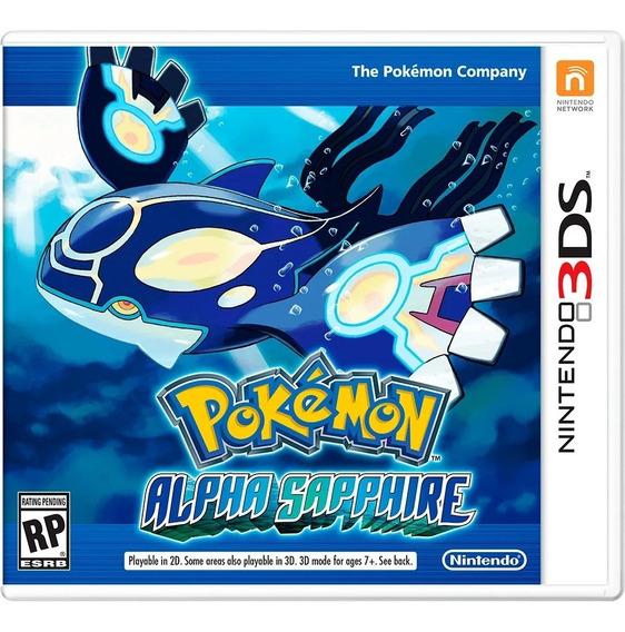Jogo Pokémon Alpha Sapphire - Nintendo 3ds - Semi-novo