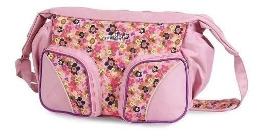 Kit Bolsa Maternidade Minnie 2115 Com Copo E Babador