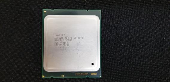 Processador Servidor Intel Xeon E5 2640 Sr0kr 2.50ghz 15mb