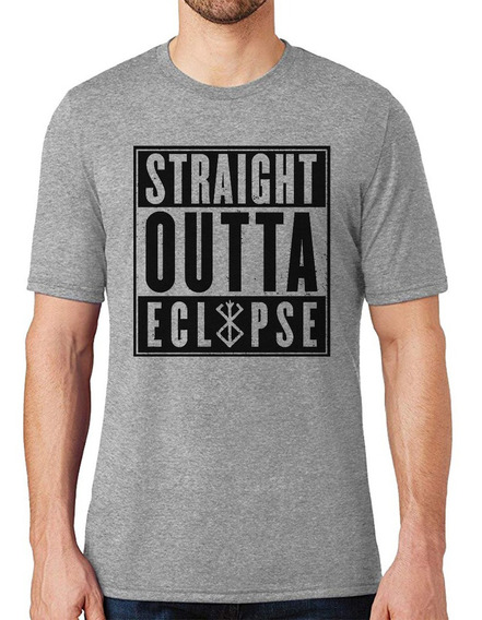 Camiseta Berserker Straight Outta Eclypse Camisa Masculina