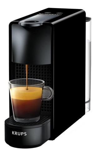 Imagen 1 de 1 de Cafetera Nespresso Krups Essenza Mini C30 automática black para cápsulas monodosis 127V