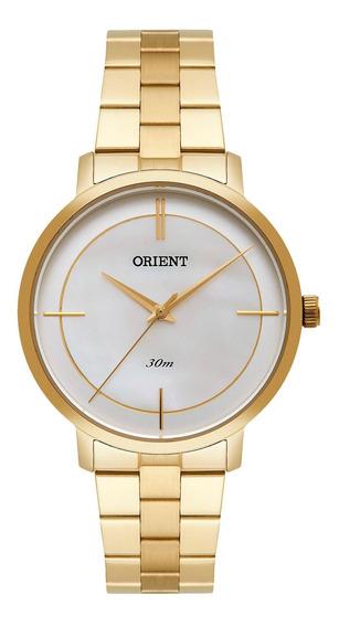 Relógio Orient Fgss0101 B1kx Feminino Dourado - Refinado