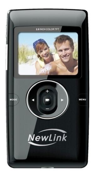 Pocket Cam Filmadora Hd Newlink Vc105 Original + Acessórios