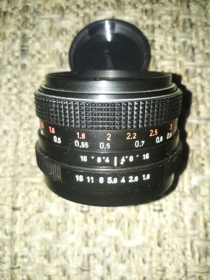 Pentacon 50mm 1.8 Encaixe M42