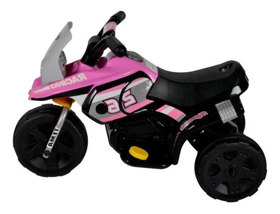 Motinha Eletrico Mini Triciclo Infantil 6v Com Luzes Pedal