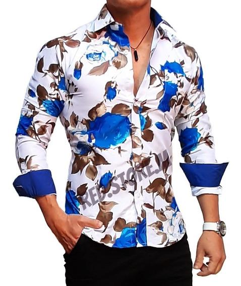 Camisa Slim Fit Entallada (mod 9)