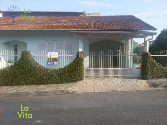 Casa Residencial À Venda, Vorstadt, Blumenau. - Ca0069