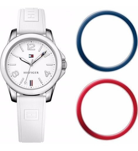 Relógio Tommy Hilfiger Orig 1781680 Personalizavel Br,ver,az