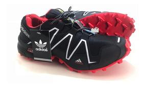 Tênis Scpeedcross 3 4 Trava Caminhada Corrida Promoção Homem