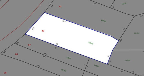 Jaçatuba - Terreno C/ 329m² - 59366