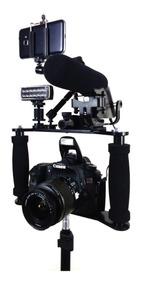 Estabilizador Cage Gaiola Slim Câmera Dslr Canon Nikon Sony
