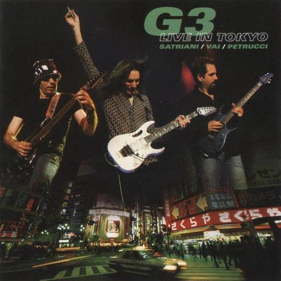 G 3 Live In Tokyo Satriani Van Petrucci En Stock Musicanoba