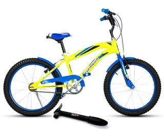Bicicleta Top Mega Rodado 20 Bmx Junior Varón 2019