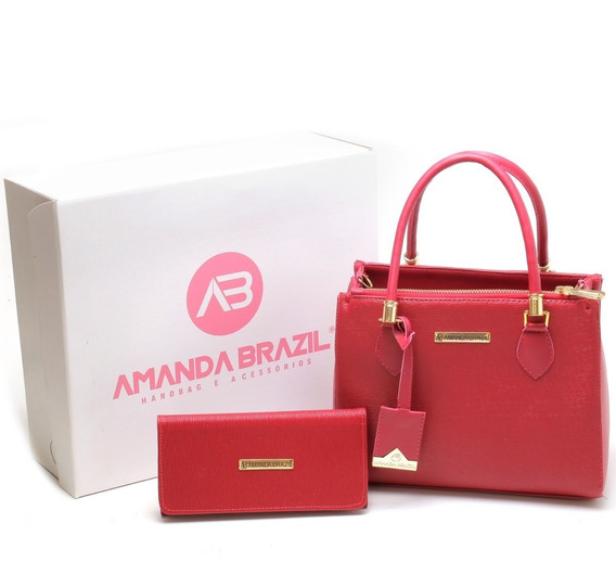 Bolsa Lorena Amanda Brazil Queima De Estoque !!!