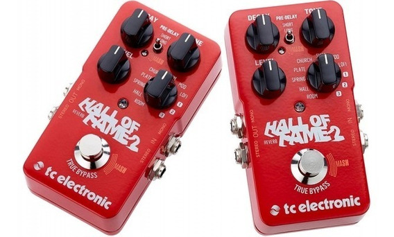 Pedal De Guitarra Tc Electronic Hall Of Fame 2 Reverb *