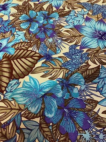 Imagem 1 de 3 de Tecido Para Almofada Floral Florido Primavera 10m