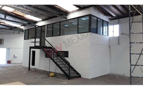 Renta Nave Indust. 980 M2 $80,000 Cerca Iztapalapa, Rojo Gómez