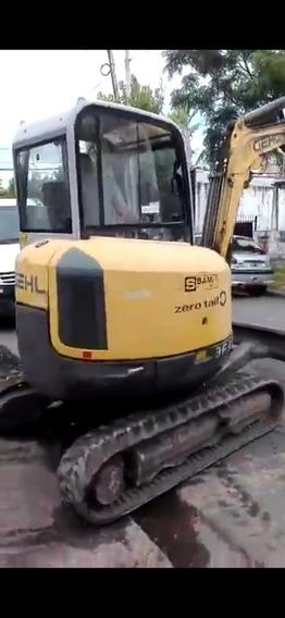 Miniretroexcavadora + Carreton
