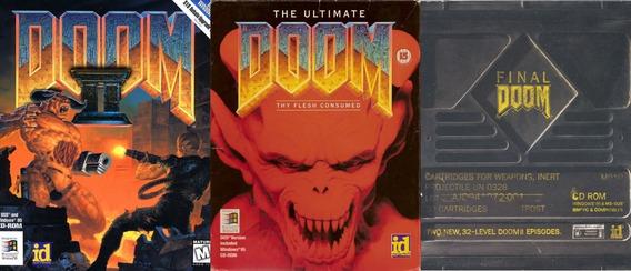 Coleção Jogos Doom Clássicos - Pc - Mídia Digital + Brinde