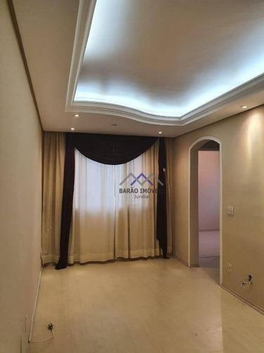 Imagem 1 de 13 de Apartamento À Venda, 54 M² Por R$ 200.000,00 - Chácara Saudáveis E Encantadoras - Jundiaí/sp - Ap1787