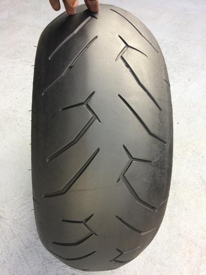 Pneu Traseiro 240/40/18 Pirelli Diablo Rosso 2 Usado V-road