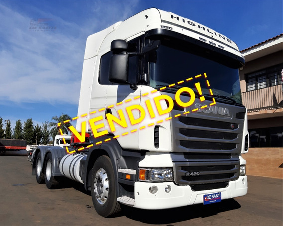 Scania R 420 6x4 Ano 2010/11 Highline