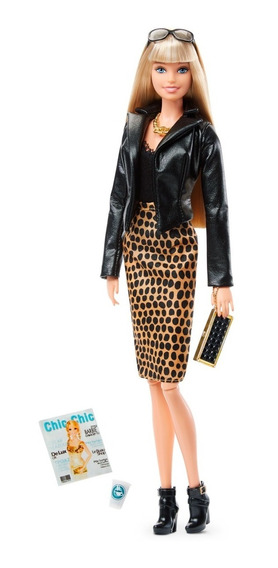 Boneca Barbie Collector The Look Urban Jungle Dgy11 - Mattel