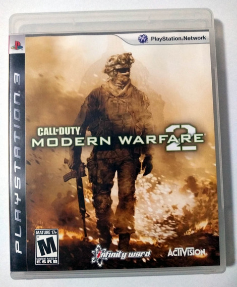 Call Of Duty Modern Warfare 2 Ps3 Mídia Física