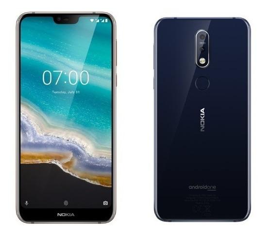 Nokia 7.1 4 Gb Ram 64 Gb Fhd Huella Nfc Nuevo Libre Gtia