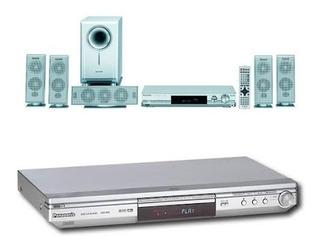 Dvd Panasonic Dvd-s35 + Home Theater Panasonic Sa-ht05