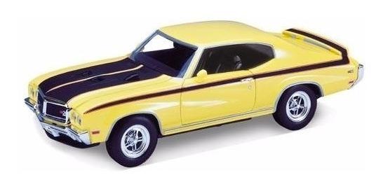 Buick Gsx 1970 Escala 1/24 - Welly Ploppy 373226