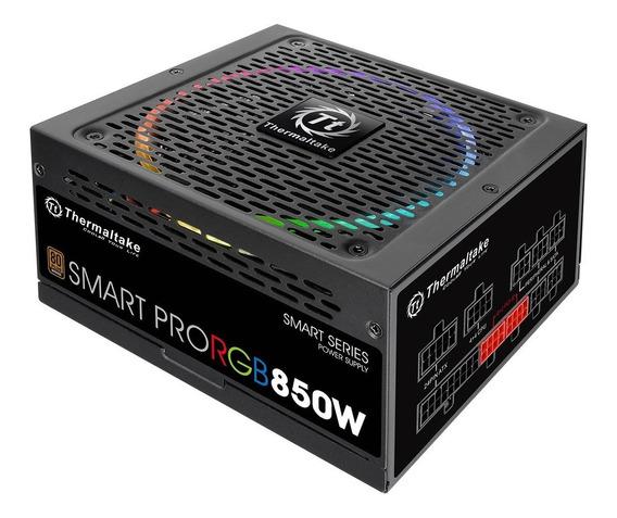 Fonte 850w Smart Pro Rgb 80 Plus Bronze Thermaltake