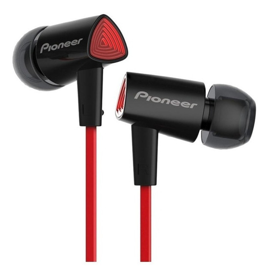 Fone De Ouvido Pioneer Cl31s In Ear Som Pesado Grave Show