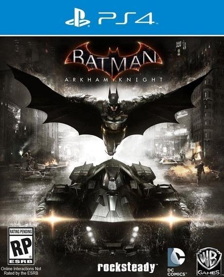 Batman: Arkham Knight Ps4 Envio Agora