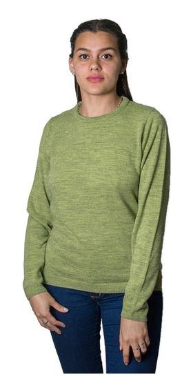 Sweater Dama Burma Clásico Escote Básico Swe-d-24