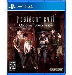 Juego Resident Evil Origins Collection Ps4 Nuevo
