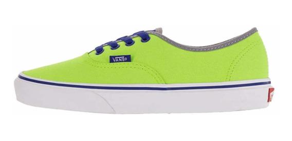 Vans Zapatos Unisex Brite Neon Talla 36 Original (40 Usd)