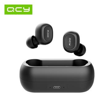 Audífonos Qcy Qs1 T1 Earpods Tws Bluetooth 5.0 Con Estuche