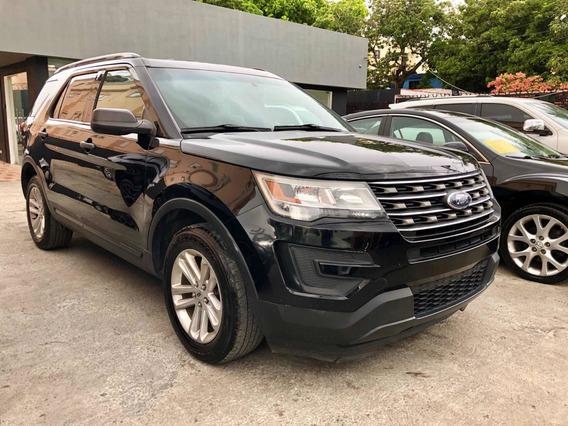 Ford Explorer 2016 Xlt Negro