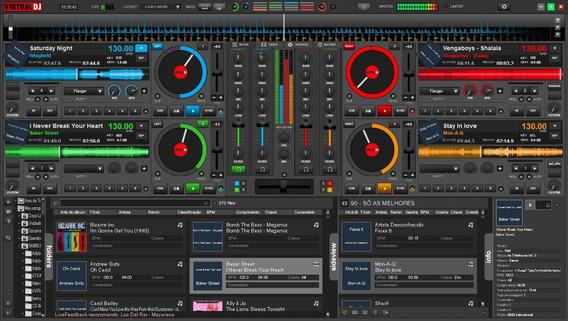 Virtual Dj 8 Pro Infinity + Skins+efeitos-win