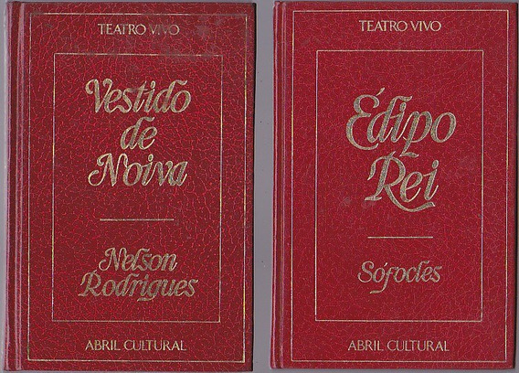 Coleçao Teatro Vivo 36 Volumes - Editora Abril