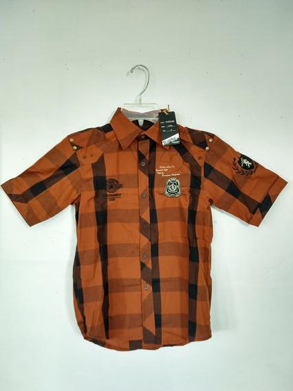 Camisa P/niño Marca Raider Jean Co. Talla S