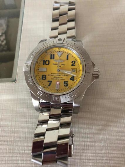 Relógio Breitling Acabamento Eta