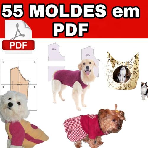 Pacote De Moldes De Roupas Para Pet + Brinde