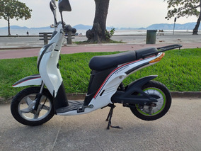 Scooter Bike Moto Elétrica 500 Watts Linda E Novíssima