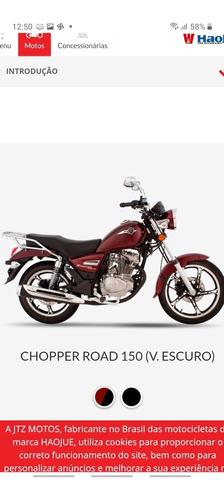 Imagem 1 de 4 de Chopper Road 150 2021/2022