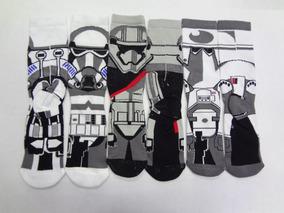Calceta Larga.star Wars Stormtrooper Clone Tropers Set3pares